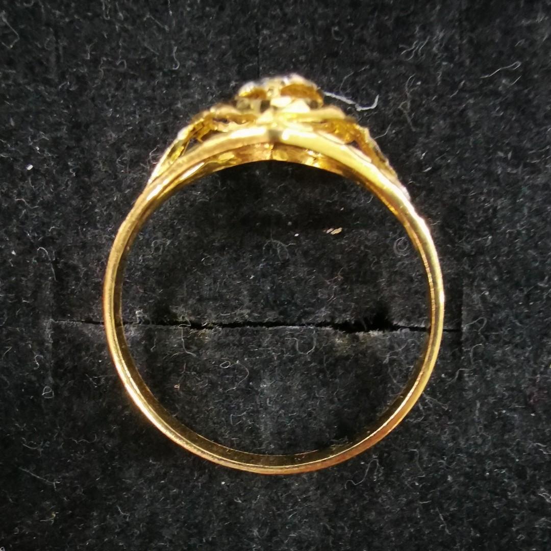 Pre-loved 916 Gold Ring [H61489]