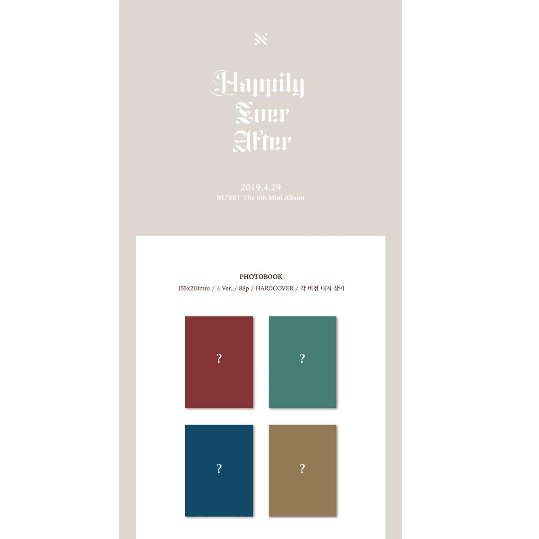 [PREORDER] 뉴이스트 (NU'EST) - HAPPILY EVER AFTER (6TH 미니앨범)