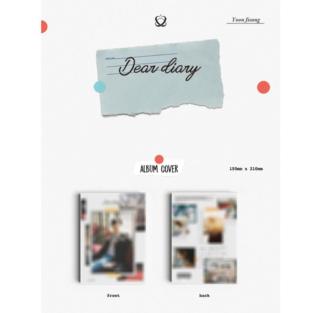 [PREORDER] 윤지성 (YOON JISUNG) - Dear diary (스페셜 앨범)