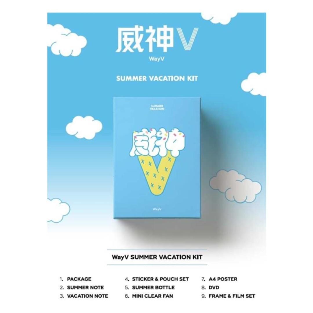[Pre-order] WAYV 웨이션브이 - 2019 WAYV SUMMER VACATION KIT