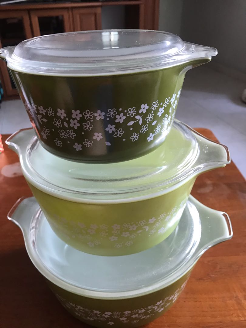 Pyrex casserole set #endgameyourexcess