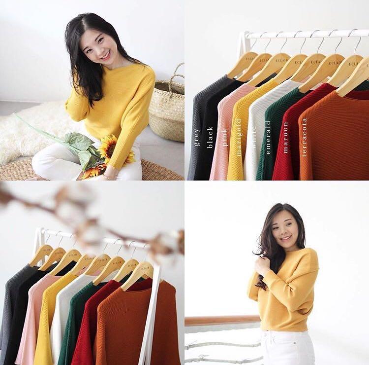 Sabrina top knit