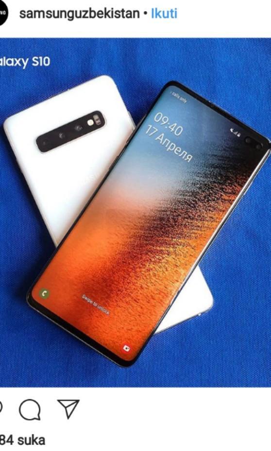 Samsung Galaxy A10 128GB Rp.12.499.000 bisa cicilan bunga 0%