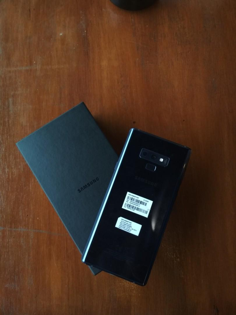 Samsung Galaxy note 9 ram 8/512gb
