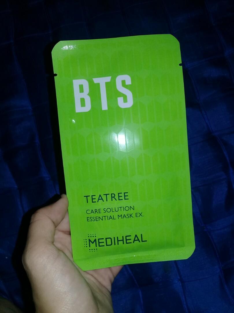 Sheet Mask Mediheal x BTS var P.DF and Teatree