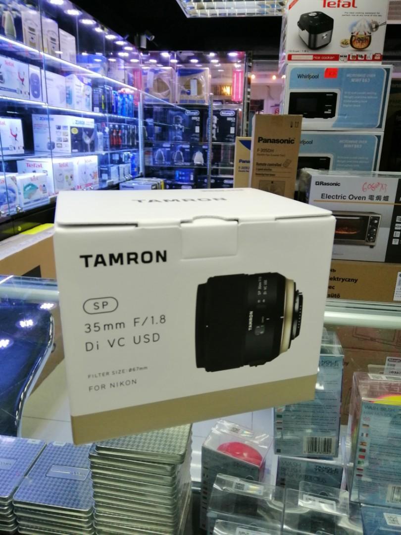 [實體店] Tamron SP 35mm F1.8 DI VC USD Nikon Mount (平行進口) 議價不回