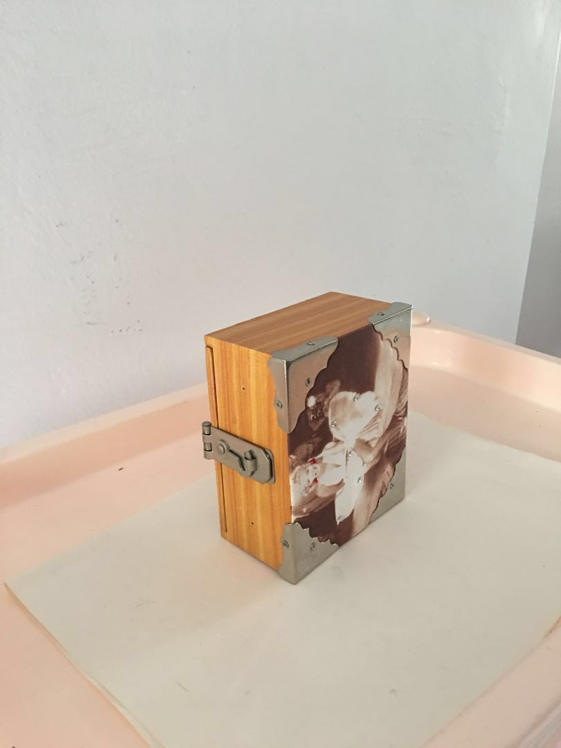 Small Wooden Gift Box