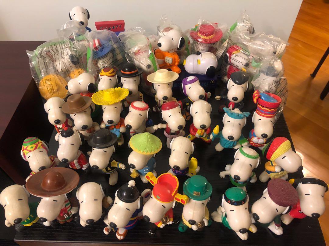 Snoopy 史諾比 x McDonald's 麥當勞 Snoopy World Tour 經典系列