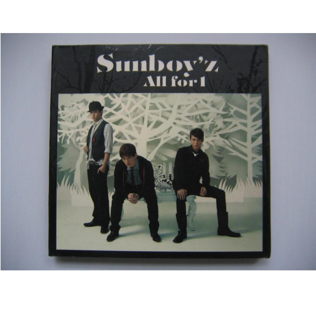 Sunboy'z - All For 1 CD + VCD (3碟) (附紙外盒 及 歌詞畫冊本) (張致恆 關智斌 陳偉霆 麥子豪)