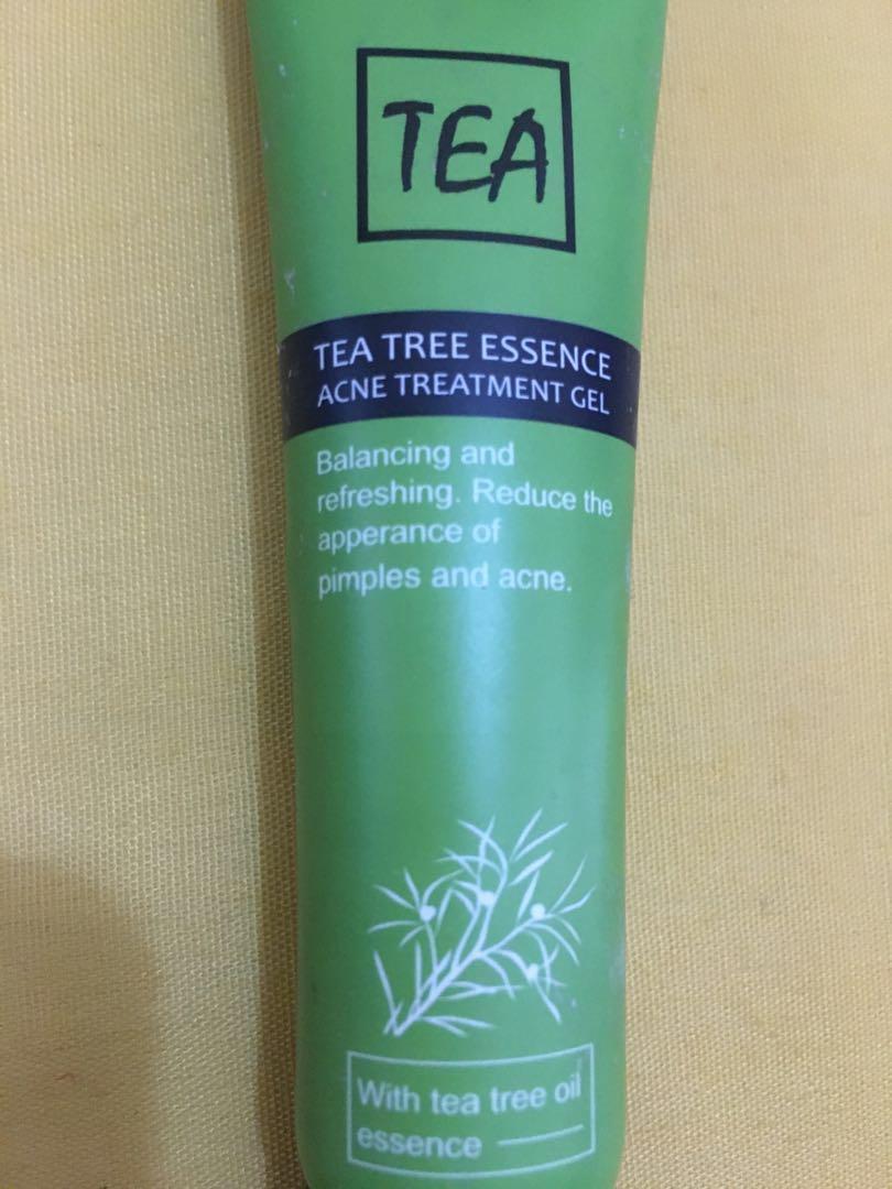 Tea Tree Essence Acne Treatment Gel Miniso