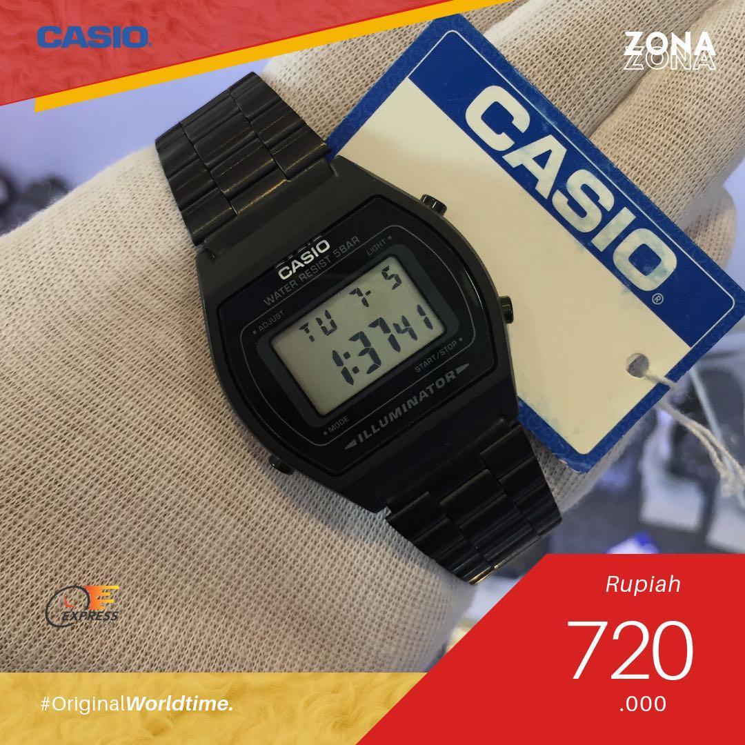 TERBARU CASIO B-640 Clasic Black