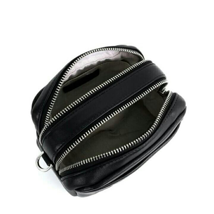 Tory Burch Perry Double Zip Mini Bag / Tas Tory Burch Original / Tory Burch Waist Bag