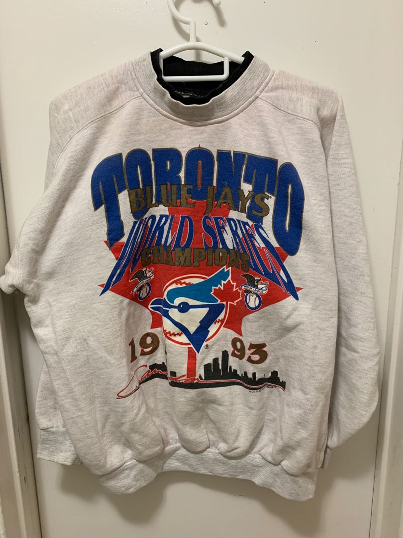 Vintage Toronto Blue Jays Crewneck - 1993 World Series Champions