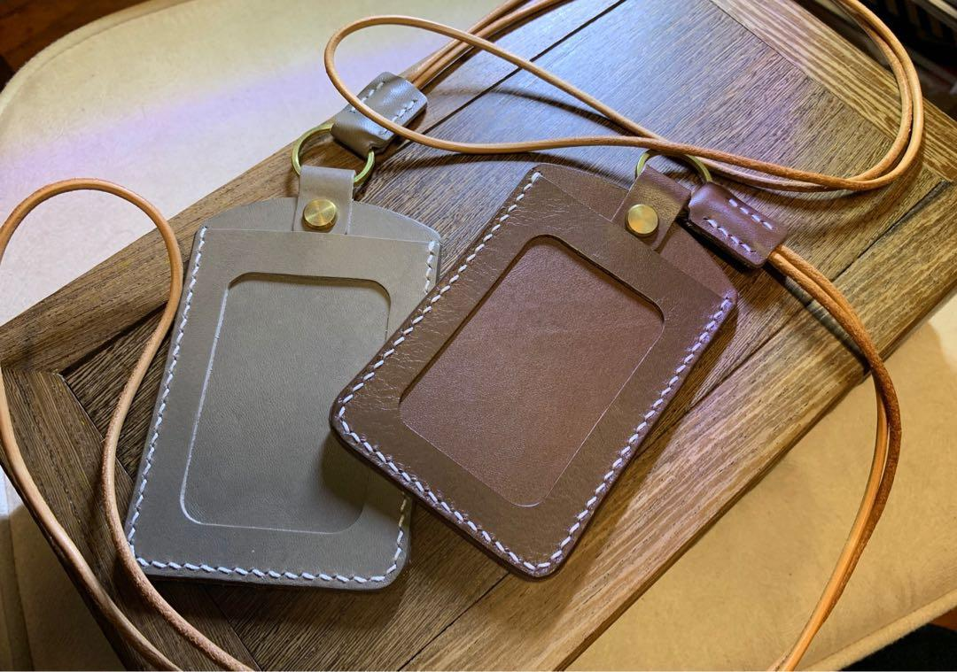 Vol.6 手製皮革 八達通套 卡片套 工作証套 証件套 handmade leather octopus card holder 母親節禮物
