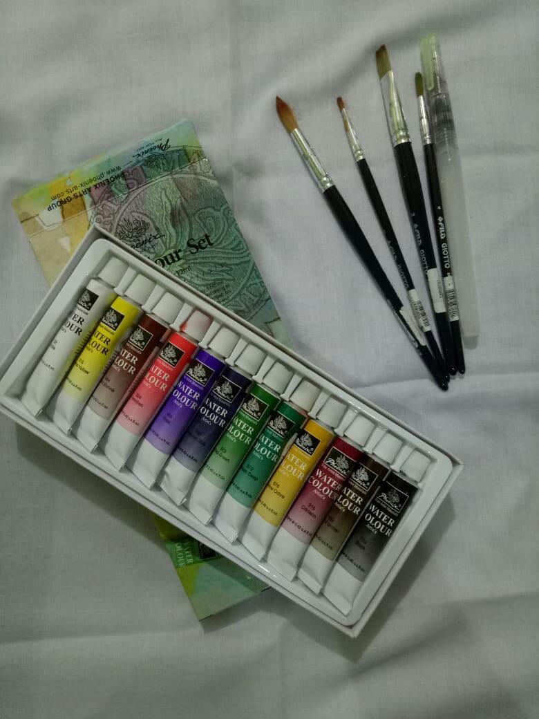 Water colour set