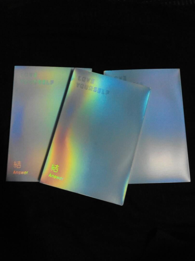 [WTS FAST] UNSEALED BTS LOVE YOURSELF ANSWER ALBUM