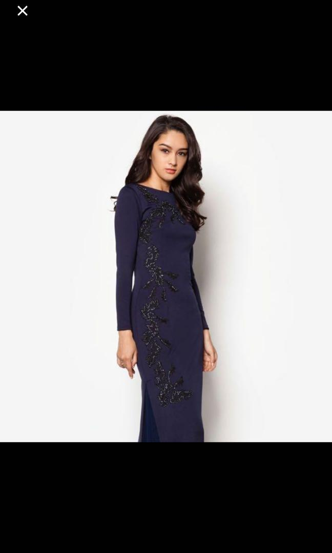 Zalia Embroidered Dress