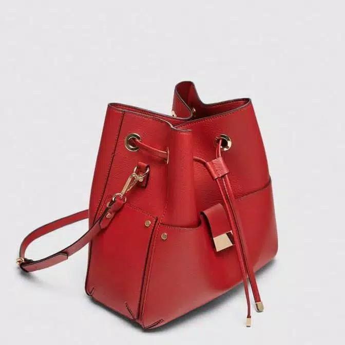 Zara Bucket Bag Tas Serut
