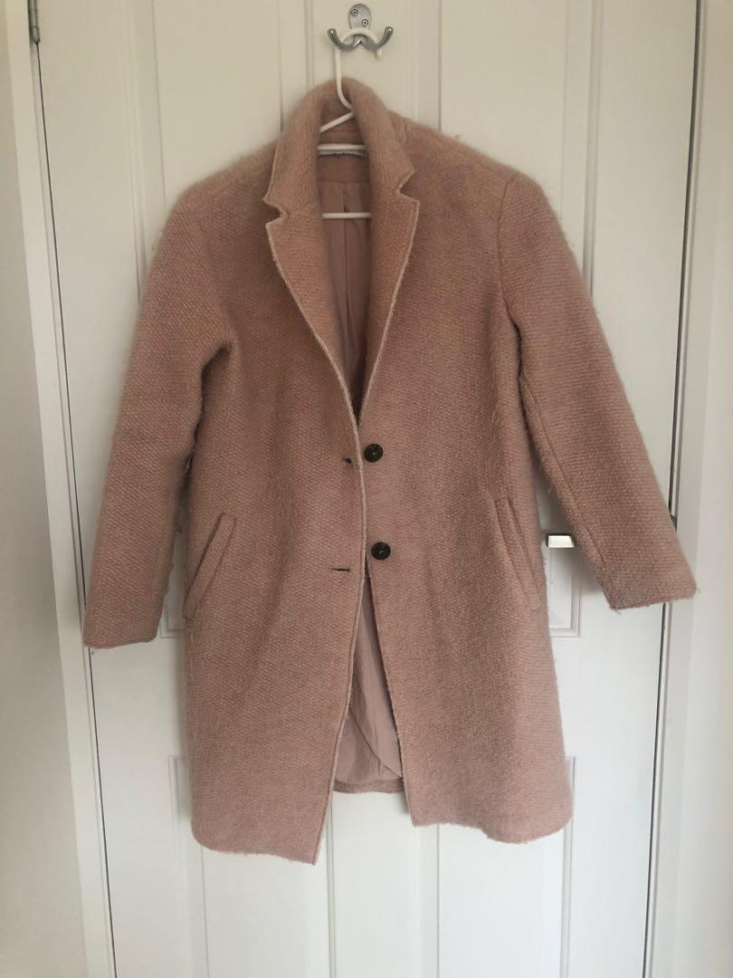 Zara Dusty Pink Jacket