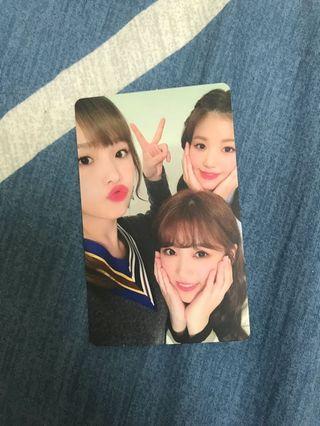 Izone coloriz photocard