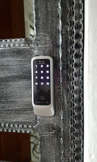 Digital lock installation