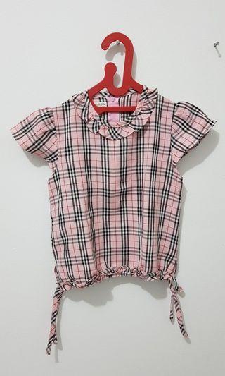 Setelan Dress Pink