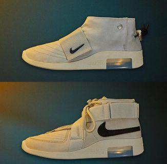 Fear of God x Nike Raid and Moccasin Preorder Light Bone Black