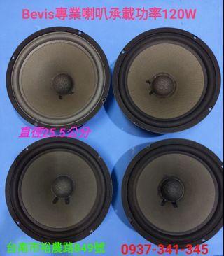 🚚 10寸單體中低音喇叭(共二組)