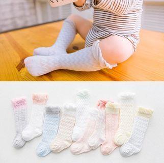 初生嬰兒 bb及膝lace襪仔 0-3M