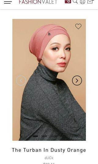🚚 dUCk turban - dusty orange