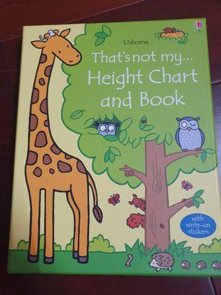 🚚 That's not my height CHart and BooK
