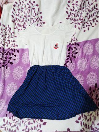Checkered retro dress!!