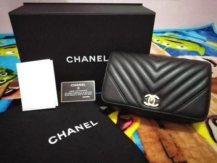 Chanel statement flap bag