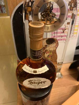 陳年老日威 Nikki super 威士忌750ml $500