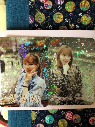 Izone Sakura JoYuRi YesCard