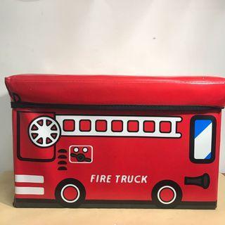 🚚 折疊式消防車造型收納椅