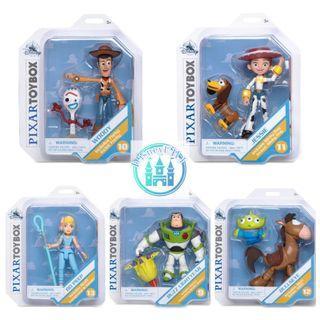 🇺🇸US disneystore toystory 4 Pixar toybox action figure 共5款