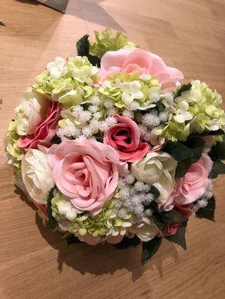 新娘絲花球