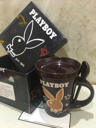 🚚 #半價居家拍賣會 Playboy. 370ml. 馬克杯三件組