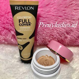 Revlon Colorstay FULL COVER Foundation 24hr Share in jar