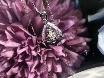 🌟 母親節最佳選擇🌟 💎18K 天然鑽石吊墜💎 💖  送禮 自用一流 💖