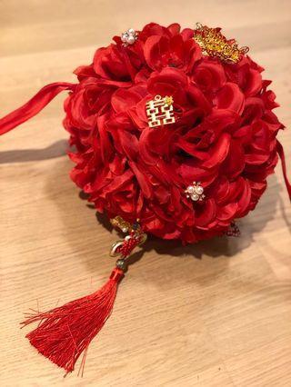 結婚用開門紅花球