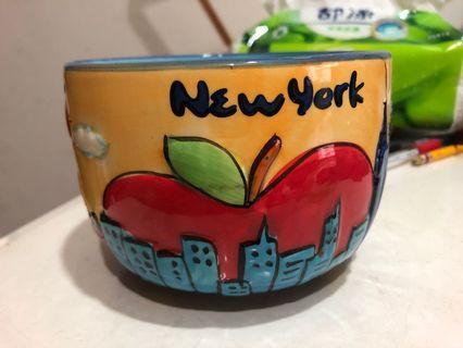 New York 紀念碗