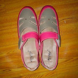 Reprice sepatu sendal yutaka