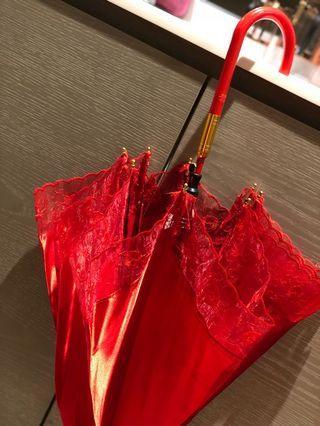 超靚出門紅傘