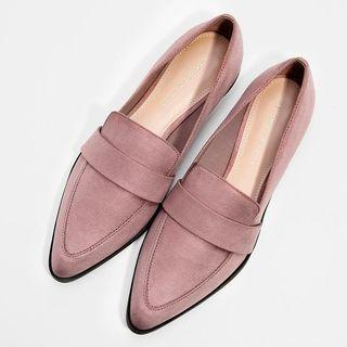 🚚 Charles & Keith Dusty Pink Flats