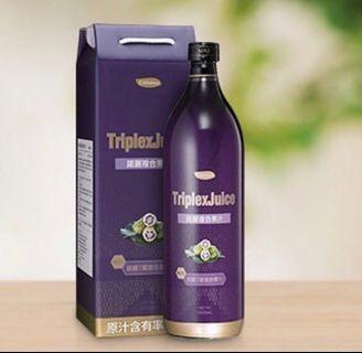 健康飲品 - (諾麗果酵素)三重水果元素® 排毒果汁 #MTRtko