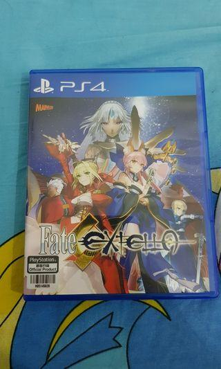 Ps4 Game - Fate extella (Chi)