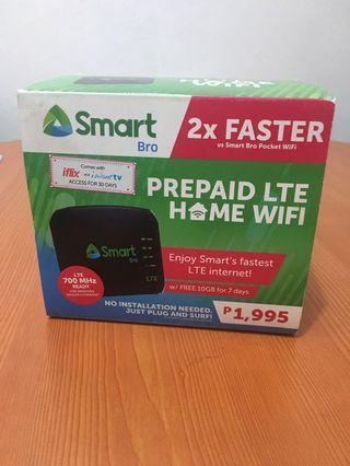 Smart prepaid home wifi complete