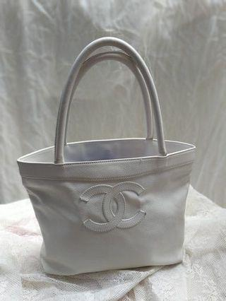 chanel tote small bag authentic